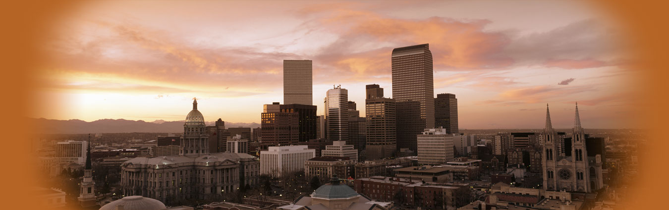 Slide 3 - Denver Cityscape